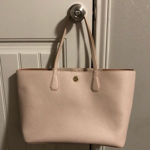 Tory Burch Perry Tote in blush leather